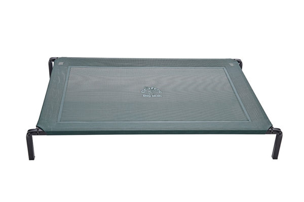 premium-powder-coated-dog-bed-forest-green-flea-free-pets-beds
