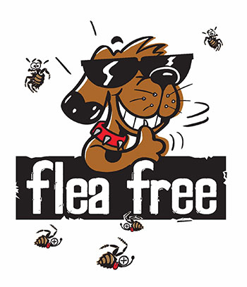 Flea Free original dog beds